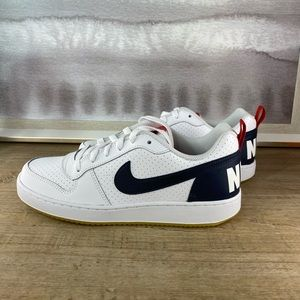 NEW Nike Court Low White Sneaker / 8